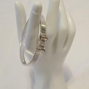 Kate spade Silver Bow Bracelet